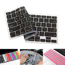 "Slim Silicone Keyboard Skin Cover Guard Protector For Apple Macbook  13"" 15"" 17"""