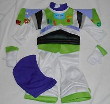 BOYS SIZE 6-12M or 12-18M BUZZ LIGHTYEAR FROM TOY STORY DISNEY STORE COSTUME NWT