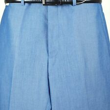 "SAVILE ROW SLACK 38"" Waist  Blue Dress Slack for Suit Separate - PP36"