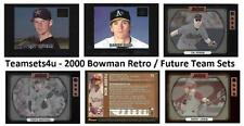 2000 Bowman Retro / Future Baseball Team Sets ** Pick Your Team Set **