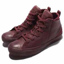 Converse Chuck Taylor All Star Sloane Monochrome Leather Red Men Shoes 553378C