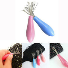NEW Comb Hair Brush Cleaner Cleaning Remover Embedded Plastic Comb Cleaner Tool
