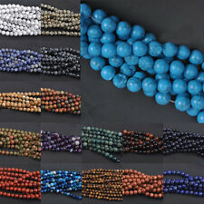 Mixed Natural Gemstone Round Assorted Loose Spacer Beads Findings 4/6/8/10/12mm