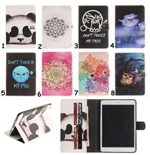 1X Floral Animal Leather Smart Cover Case For iPad Samsung Tab 3/4/A/S2/E Tablet