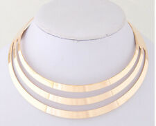 Long White Chain Choker Chunky Statement Bib Jewelry Pendant Necklace Party New