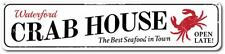 Personalized Crab House Seafood Beach Sign ENSA1001313