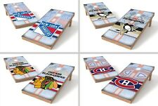 Choose NHL Team Tailgate Toss Shields ACA Regulation Cornhole Game w/ Bean Bags