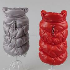 Lovely Dog Coat Down Jacket Vest Pet Puppy Winter Clothes Puppy Outwear Costume