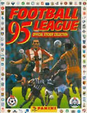 PANINI 95 (1985) Football League Foil BADGE sticker in fridge magnet - VARIOUS