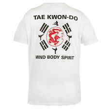 T-SHIRT MMA TAEKWONDO IDEAL FOR GYM MMA TRAINING FIGHTERS SPORT CASUAL WEARS