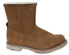 Timberland Authentic Warm Line Waterproof Womens Boots Slip On Suede A118E U66