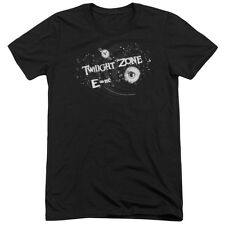 Twilight Zone Another Dimension Mens Tri-Blend Short Sleeve Shirt BLACK