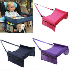 Baby Safety Waterproof Snack Car Seat Table Pushchair Kids Play Travel Tray Draw