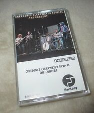"VINTAGE/RARE CREEDENCE CLEARWATER REVIVAL ""THE CONCERT"" LIVE ALBUM CASSETTE TAPE"