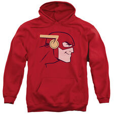 Jla Cooke Head Mens Pullover Hoodie Red