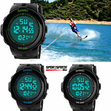 Outdoor Sports Men LED Digital Watch Military Sports WristWatches Waterproof