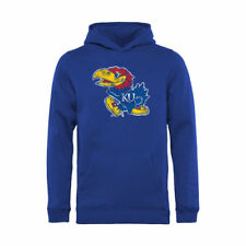 Kansas Jayhawks Youth Royal Classic Primary Pullover Hoodie