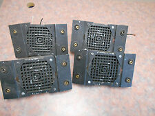 LOT OF FOUR FEDERAL VIBRATONE HORN MODEL 350