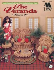 The Veranda, Annie's crochet patterns fit Barbie fashion dolls