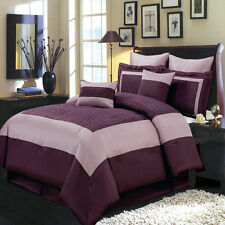 Queen Size 8PC Wendy Bedding Set Includes Comforter Skirt Shams & Pillows