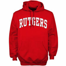 Rutgers Scarlet Knights Scarlet Bold Arch Hoodie - College
