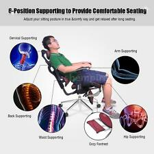 Adjustable Mesh Ergonomic Office Chair Recliner Lumbar Support Footrest P5N7