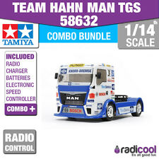 COMBO KIT! 58632 TAMIYA TEAM HAHN MAN TGS RACE TRUCK TT-01 E R/C KIT