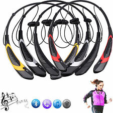 Wireless Bluetooth Headset Sports Stereo Earbuds with MIC For Samsung iPhone HTC