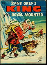 Zane Grey's King of the Royal Mounted- Four Color Comics #384 1952 VG+