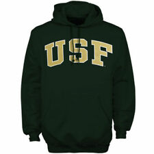 South Florida Bulls Green Bold Arch Hoodie - College