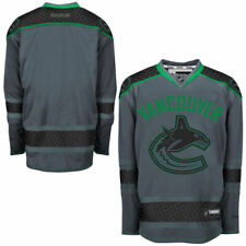 Reebok Vancouver Canucks Storm Cross Check Premier Jersey - NHL