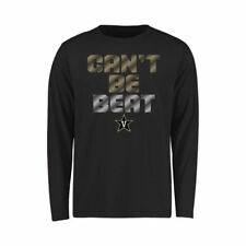 Vanderbilt Commodores Youth Black Can't Be Beat Long Sleeve T-Shirt - College