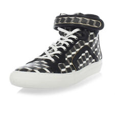 PIERRE HARDY New Men CUBE Sneakers Leather shoes Made in portugal