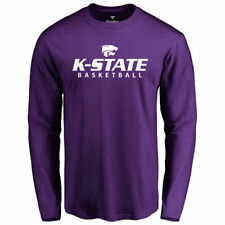 Kansas State Wildcats Purple Kansas State Basketball Long Sleeve T-Shirt