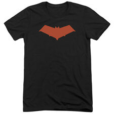 Batman Red Hood Mens Tri-Blend Short Sleeve Shirt BLACK