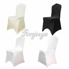 1-100 Lycra Spandex Stretch Chair Covers For Wedding Event Banquet Decor