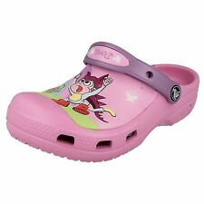 GIRLS SYNTHETIC DORA CLOGDS BY CROCS GREAT FOR GIRLS STYLE CC DORA BUTTERFLY