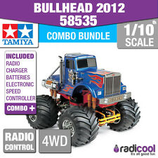 COMBO DEAL! 58535 TAMIYA BULLHEAD 1/10th R/C KIT RADIO CONTROL 1/10 TRUCK NEW!