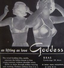 Goddess 624 No Poke underwire Madonna look Bullet Bra criss cross back NWT