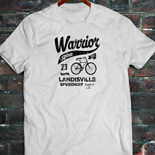 BICYCLE WARRIOR SPIRIT BIKE CYCLING ROAD MOUNTAIN Mens White T-Shirt