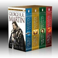 A Song Of Ice And Fire 4 Book Box Set by George R.R. Martin Game Of Thrones