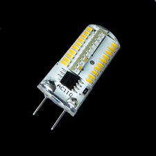 10 Dimmable G8 80-3014SMD LED Light BULB 3.5W 350LM 110/240V Silicone White/warm