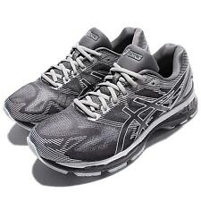 Asics Gel-Nimbus 19 2E Wide Grey White Men Running Shoes Sneakers T701N-9701