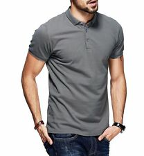 100% Cotton Mens Casual Polo shirt Lapel Short Sleeve T-shirt  4 Colors M to XXL