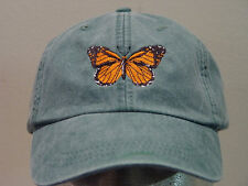 MONARCH BUTTERFLY HAT WOMEN MEN INSECT WILDLIFE CAP Price Embroidery Apparel