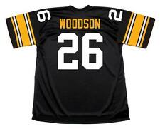 ROD WOODSON Pittsburgh Steelers 1989 Throwback Home NFL Football Jersey