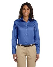 Chestnut Hill Womens Performance Oxford Shirt Big Sizes Only