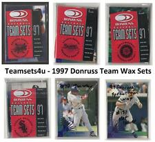 1997 Donruss Team Wax Baseball Set ** Pick Your Team **