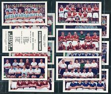 "SOCCER BUBBLE GUM 1956/58 ""SOCCER TEAMS"" SERIES NO.1 & 2 - PICK YOUR CARD"