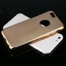 Luxury Stylish Electroplated Dotted Case  RoseGold For iPhone 5 5s {[jk44
